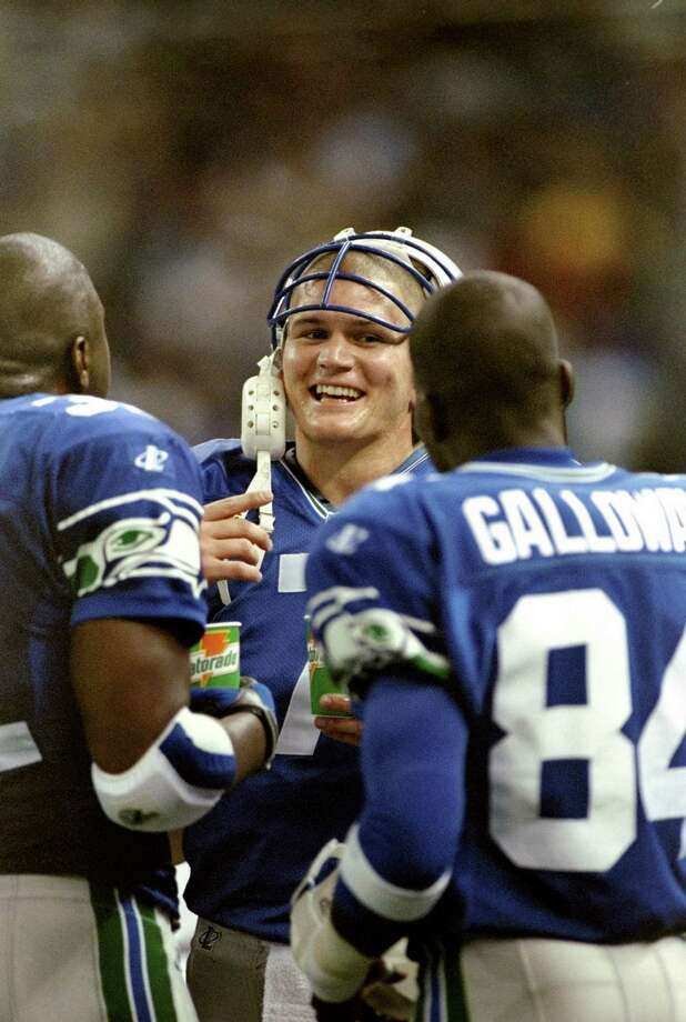 John Kitna, 1997-2000: Central Washington University's own, Kitna came to the Seahawks as an undrafted free agent and went on to start after backing up Warren Moon during two seasons. His career QB rating is 77.4. Photo by Otto Greule Jr./Allsport Photo: Otto Greule Jr, Getty Images / Getty Images North America