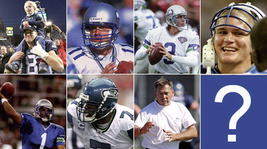 As decision time approaches for Pete Carroll, it's time to take a look back at Seahawks quarterbacks past. Is he looking for the next Hasselbeck, or the next Stan Gelbaugh? Photo: Getty Images