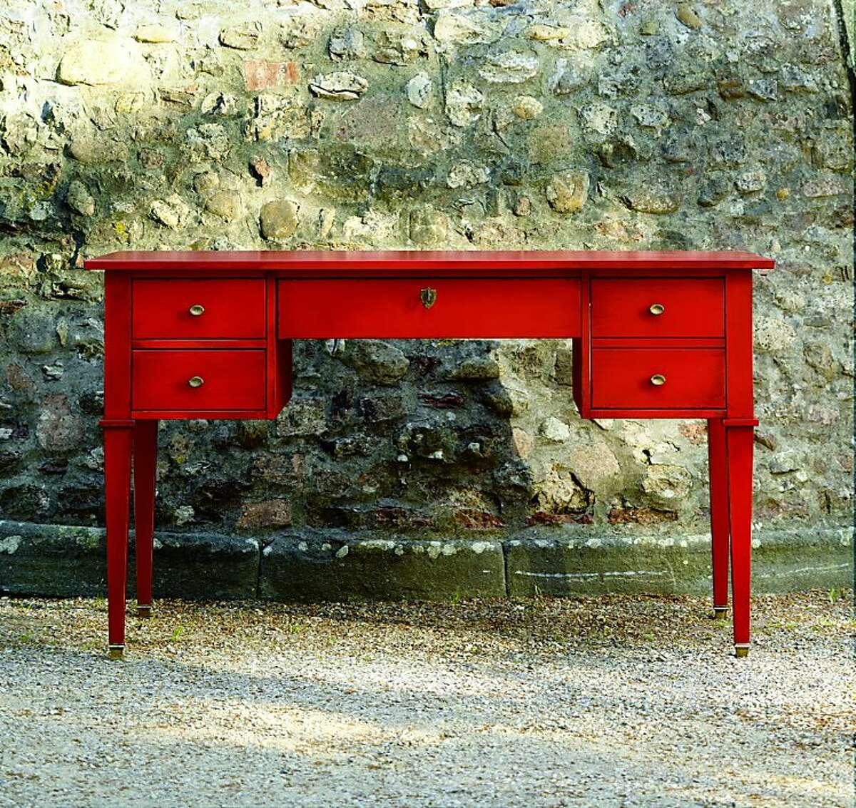 $949: Bouclier Desk from Ballard Designs (ballarddesigns.com)