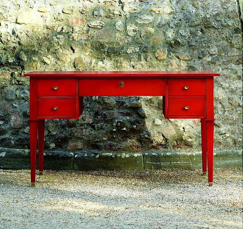 $949: Bouclier Desk from Ballard Designs (ballarddesigns.com) Photo: Ballard Designs