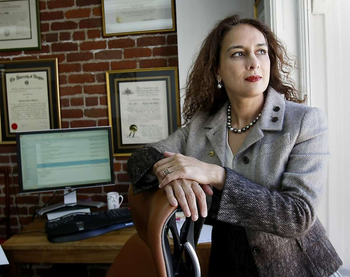 Harmeet Dhillon in her Post Street lawyers offices. Harmeet Dhillon, GOP candidate for California State Senate, is shocked by the comments of Missouri representative Tod Akin and expects him to resign.