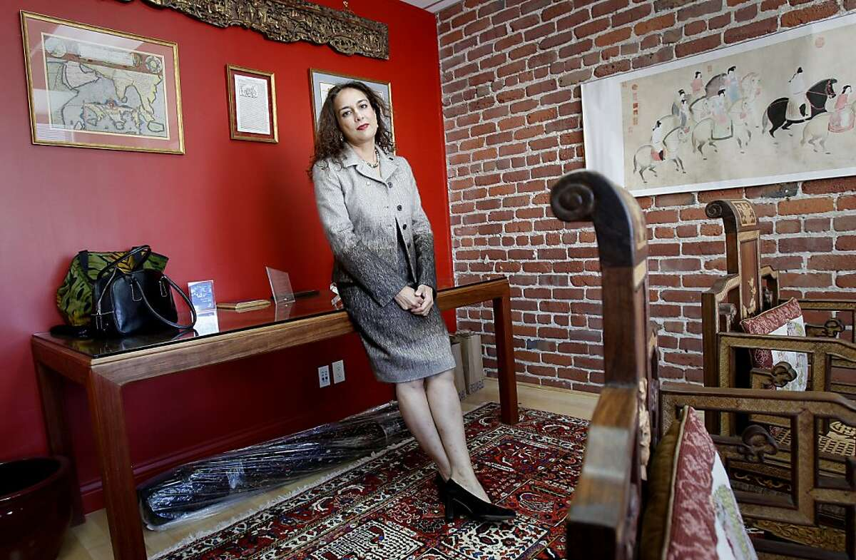 Harmeet Dhillon in her comfortable lawyers office above Post Street in San Francisco, Calif. Harmeet Dhillon, GOP candidate for California State Senate, is shocked by the comments of Missouri representative Tod Akin and expects him to resign.