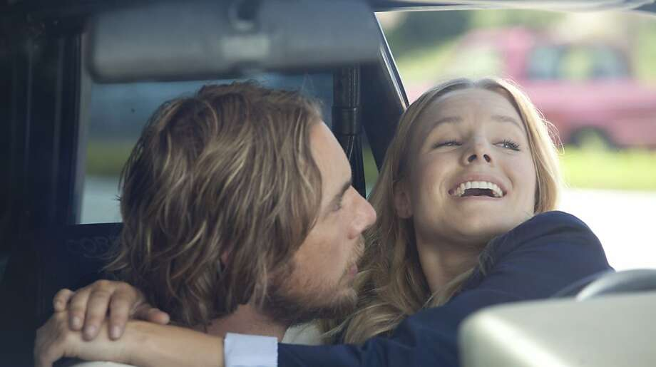 Kristen Bell and Dax Shepard hit the road in the romantic action comedy HIT AND RUN. Dax Shepard also wrote and co-directed the film. Photo: Jeffrey Reed, Open Road Films
