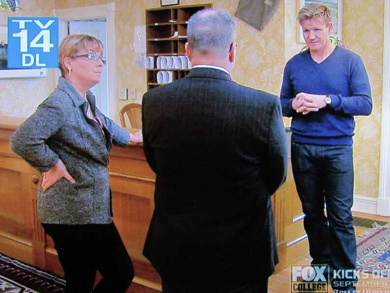The Cambridge Hotel was featured on Gordon Ramsay's