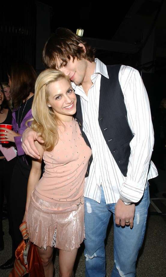 And Ashton dated the late Brittany Murphy. Photo from 2003.   (Getty Images)