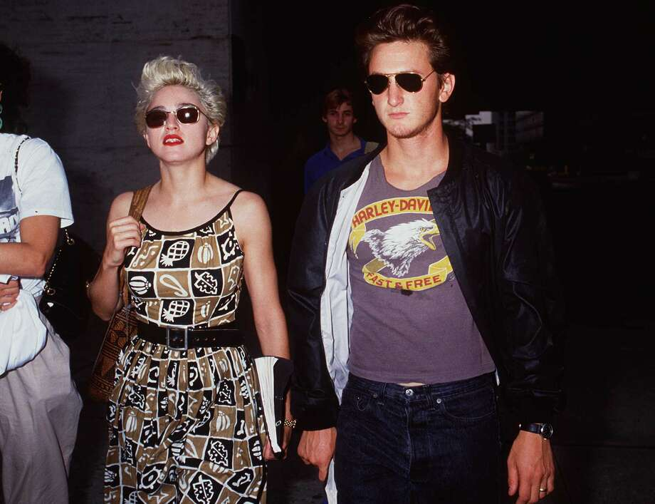 Oh, the 80s, epitomized by Madonna and Sean Penn in 1986. Photo: Brenda Chase/Online USA/Getty Images.