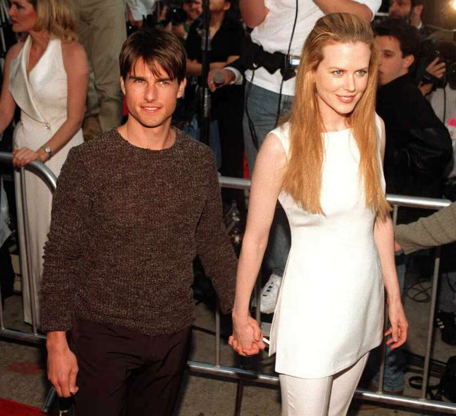 Tom Cruise and Nicole Kidman in 1996, pre-Katie Holmes.  (AFP/Getty Images)