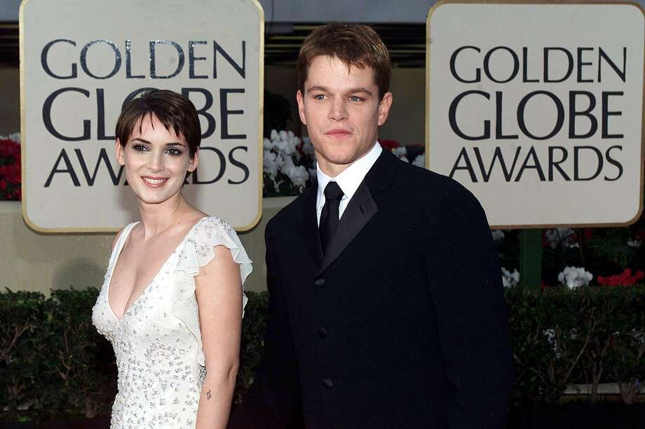 Remember Matt Damon and Winona Ryder? No? Neither did we. There's just one picture of them from Getty, from the 2000 Golden Globes.  (AFP/Getty Images)