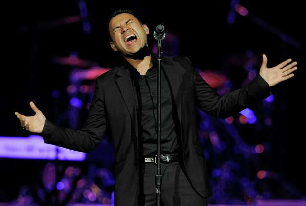 Frankie J performs at the Honda Center on Saturday, Aug. 11, 2012 in Anaheim, Calif. (Photo by Chris Pizzello/Invision/AP) Photo: Chris Pizzello, Associated Press / Invision