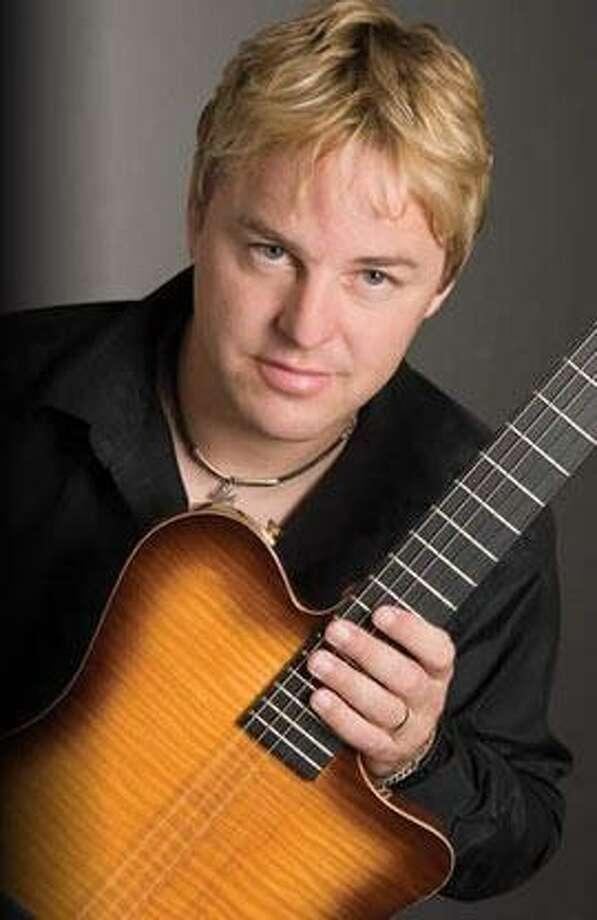 Smooth-jazz guitarist Steve Oliver Photo: Courtesy Photo