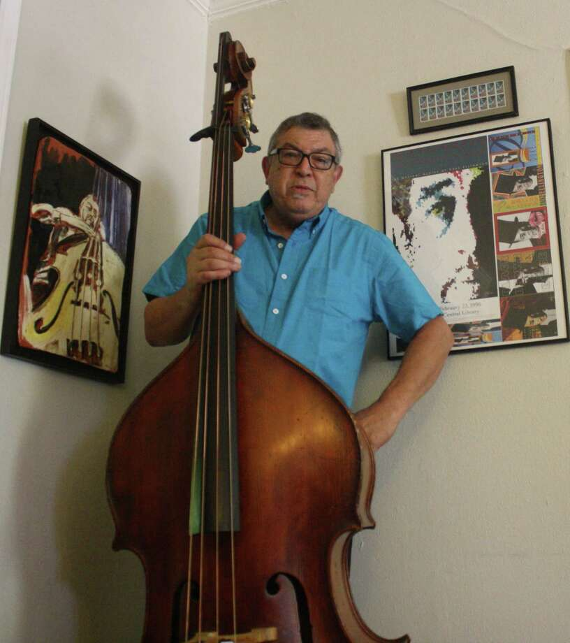 George Prado been playing bass for a half-century. Photo: Jim Beal Jr., San Antonio Express-News
