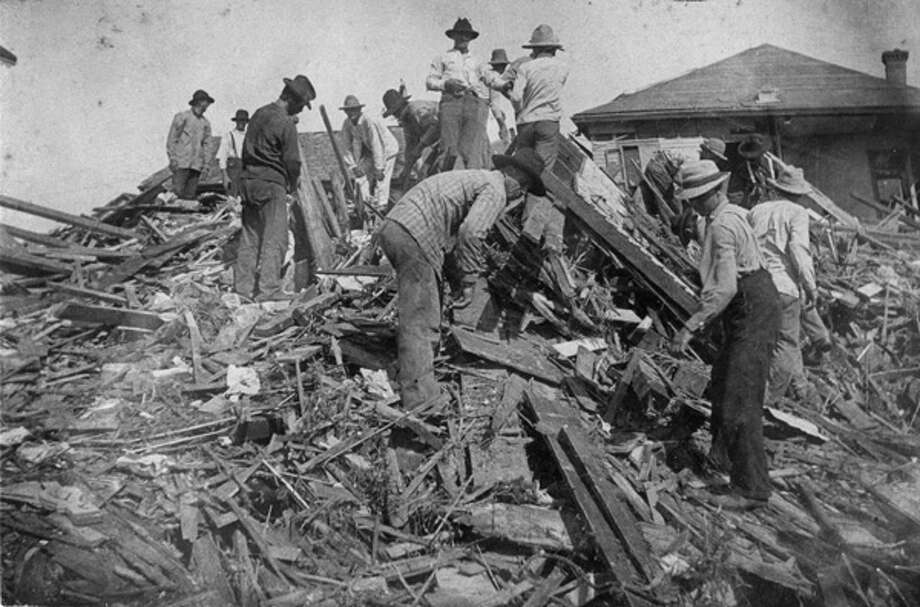 Galveston's terrible 1900 storm left at least 6,000 people dead, and perhaps more. Today, the deadly storm would cost around $50 billion in insured losses. Photo: .