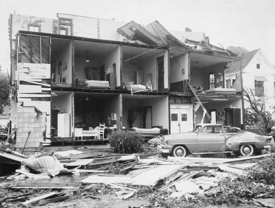Hurricane Carla, a Category 5 hurricane that hit Texas in 1961 as a Cat 4, was among the worst storms to hit the United States in recorded history. In its time, it cause $2 billion in damages - that's a number higher than insured losses. Today, Carla would cost an estimated $10 billion in insured losses, Karen Clark & Co. reports in a new study. Photo: .