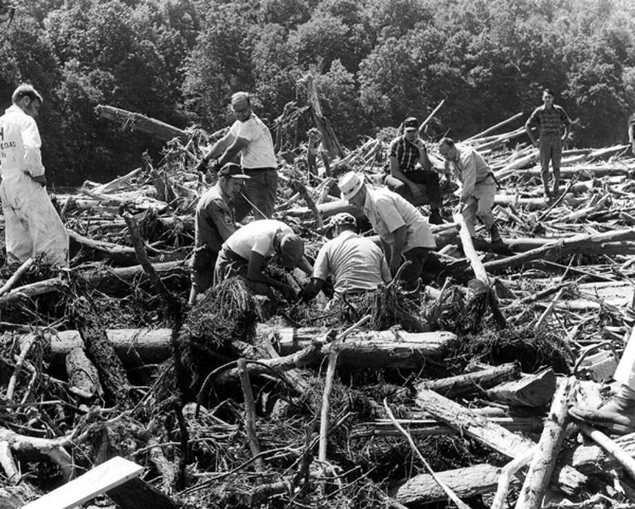 Hurricane Camille came out of the Gulf in August of 1969 and moved across the south, into Virginia, where it killed 153 people. Today, Camille would cost $15 billion in insured losses.  Photo: .
