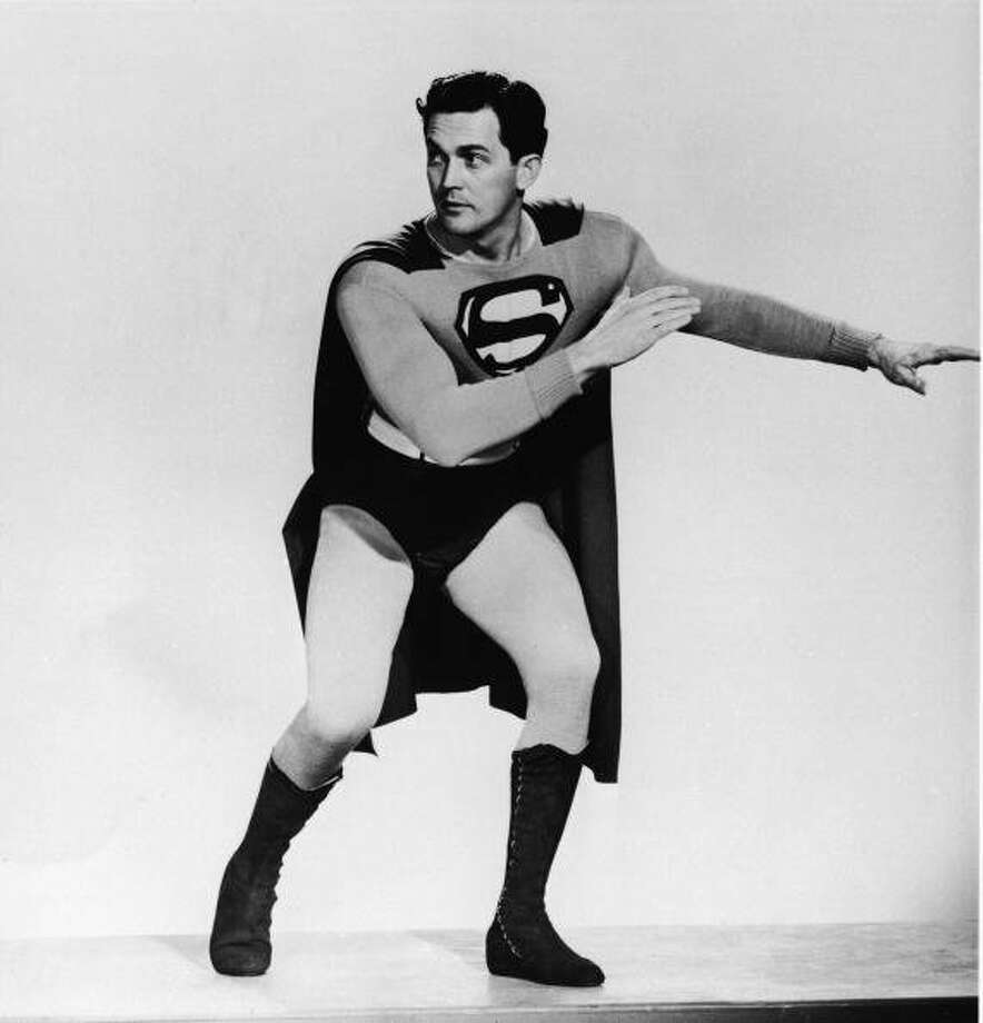 "74-years of Superman- The man of steel who has managed to save a city and fall in love made his first appearance in ""Action Comics #1,"" on April 18, 1938. Pictured in this file photo is American actor Kirk Alyn (1910 - 1999) posing in costume as 'Superman' from the 1948 film ""Superman.""  (Getty Images)"