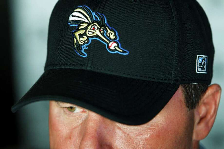 Roger Clemens speaks during a press conference to announce his signing with the Sugar Land Skeeters Minor League Baseball Team at Constellation Field, Tuesday, Aug. 21, 2012, in Sugar Land.  Clemens, an All Star and seven time Cy Young Award Winner, will make his  start for the Skeeters this Saturday, August 25. Photo: Michael Paulsen, Houston Chronicle / © 2012 Houston Chronicle
