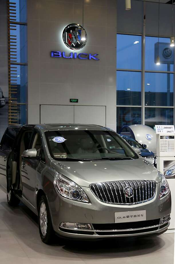 China's business elite have fallen in love with the Buick GL8, which has more than twice the sales of its closest competitor. Photo: Qilai Shen, Bloomberg News