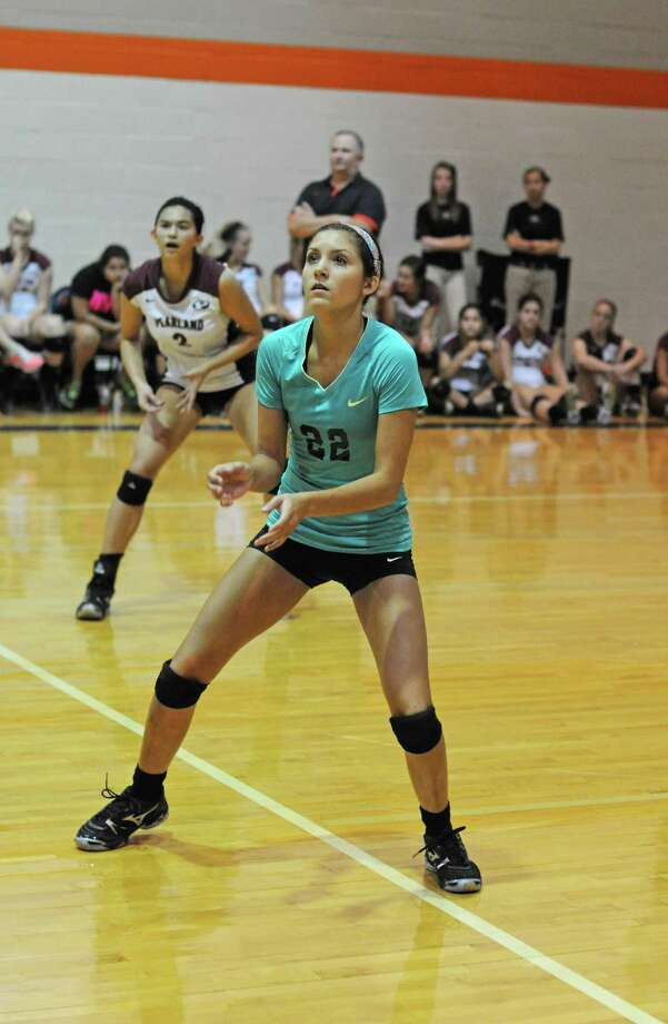 Beth Shecterle (22) Libero, Pearland Not picturedKeely Hayes Utility, Cy-Fair Photo: L. Scott Hainline / The Chronicle