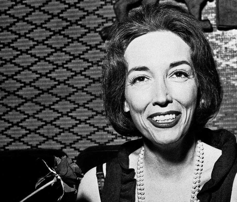 "Helen Gurley Brown - in 1964, two years after publication of ""Sex and the Single Girl"" - believed financial freedom was as important as sexual freedom for women. Photo: Anonymous / AP"