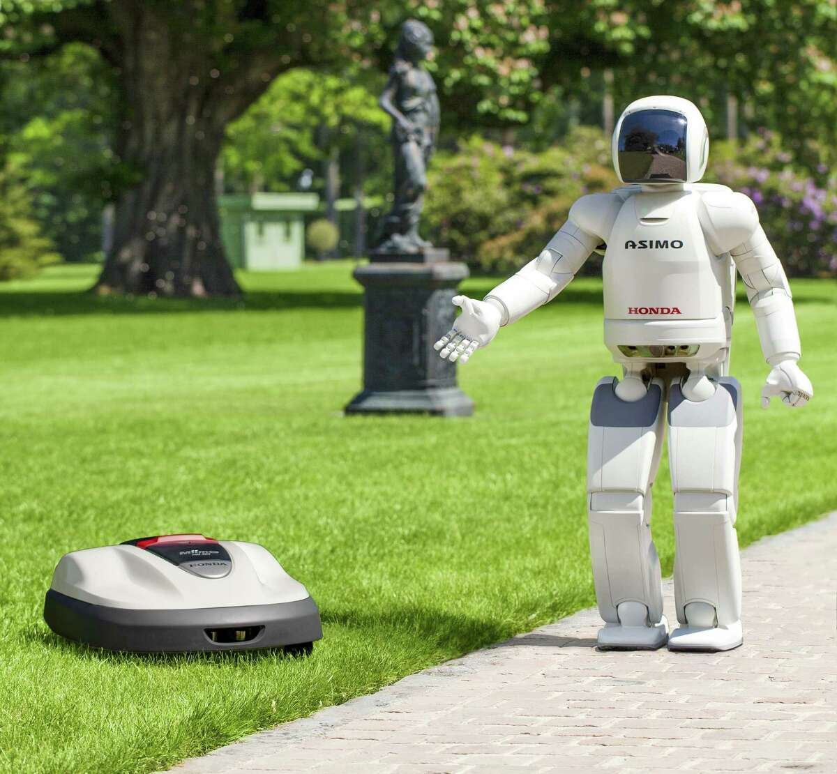 Robotic helpers like the Roomba may be equipped to disinfect their surroundings and guard against the transmission of illness as the roll around.
