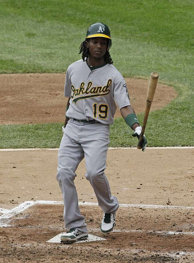 "Jemile Weeks, who was hitting .220, says, ""I'm going to be a star in this game, man."" Photo: Nam Y. Huh, Associated Press"