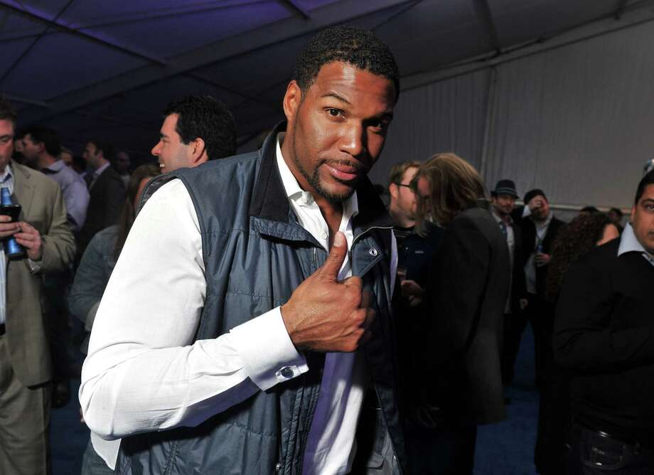 FILE â?? AUGUST 21:  According to reports August 21, 2012 Michael Strahan will co-host â??Live! with Kelly.â?  Strahan is a former New York Giants defensive end and football analyst for â??Fox NFL Sunday.â? INDIANAPOLIS, IN - FEBRUARY 02: Former NFL player Michael Strahan attends EA SPORTS Madden Bowl kicks off the Bud Light Hotel at the Bud Light Hotel on February 2, 2012 in Indianapolis, Indiana. (Photo by Stephen Lovekin/Getty Images for Bud Light) Photo: Stephen Lovekin / 2012 Getty Images