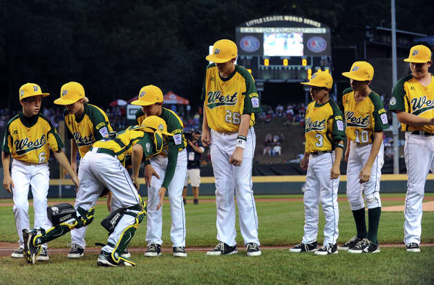 2012 Little League World Series game action between New England and West in South Williamsport, Penn. on Tuesday August 21, 2012. West beat New England 5-0. Photo: Christian Abraham / Connecticut Post