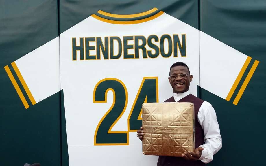Rickey Henderson, Oakland Tech High, 1976: Baseball Hall of Famer, Oakland A's.  (Frederic Larson / The Chronicle)