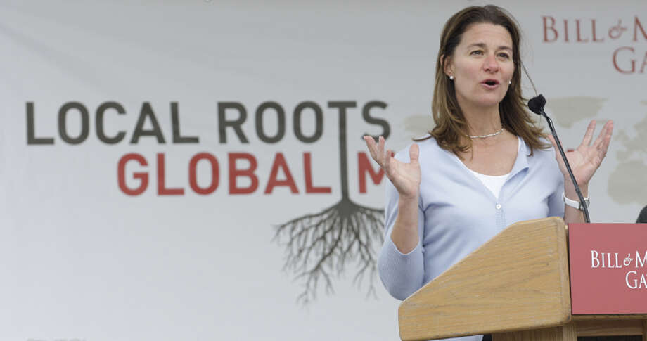 4. Melinda Gates, co-chair of the Bill & Melinda Gates Foundation Photo: Ted S. Warren, . / AP