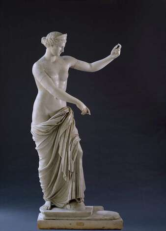 "This marble statue of Aphrodite will be featured in ""Aphrodite and the Gods of Love"" at the San Antonio Museum of Art. Courtesy Pedicini Images Photo: Courtesy Pedicini Images"