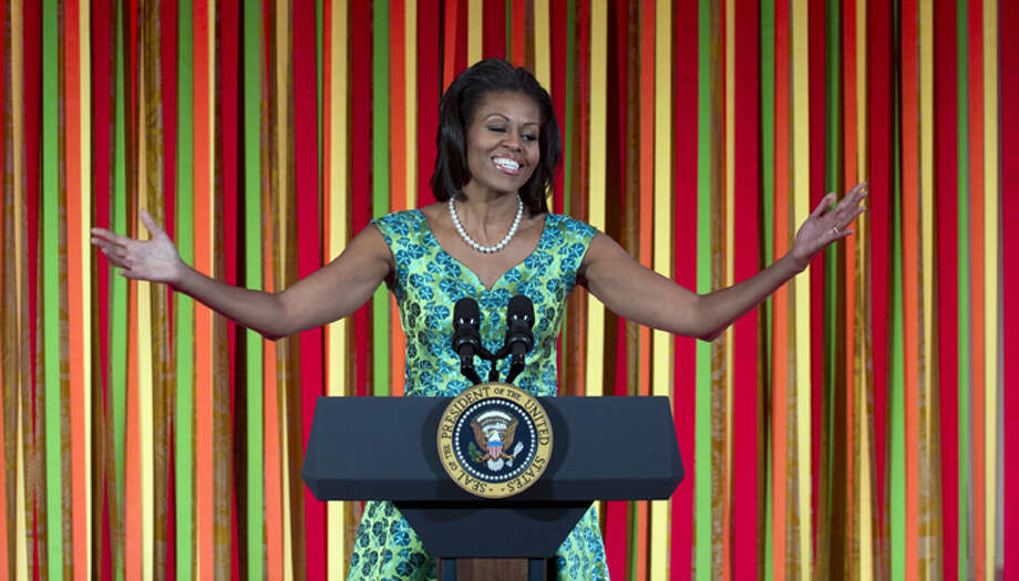 7. U.S. First Lady Michelle Obama Photo: SAUL LOEB, . / AFP