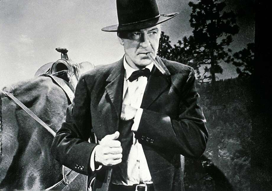 """Gary Cooper plays a doctor in """"The Hanging Tree,"""" which his daughter has helped release on DVD. Photo: Warner Archive"""