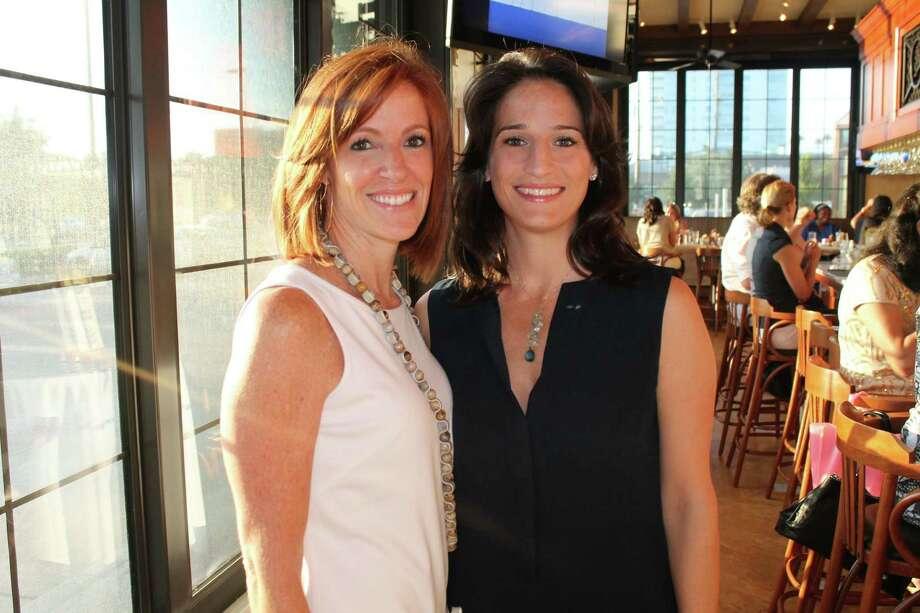 Christine Hoffer, left, and Celina Stabbel Photo: Studio Communications