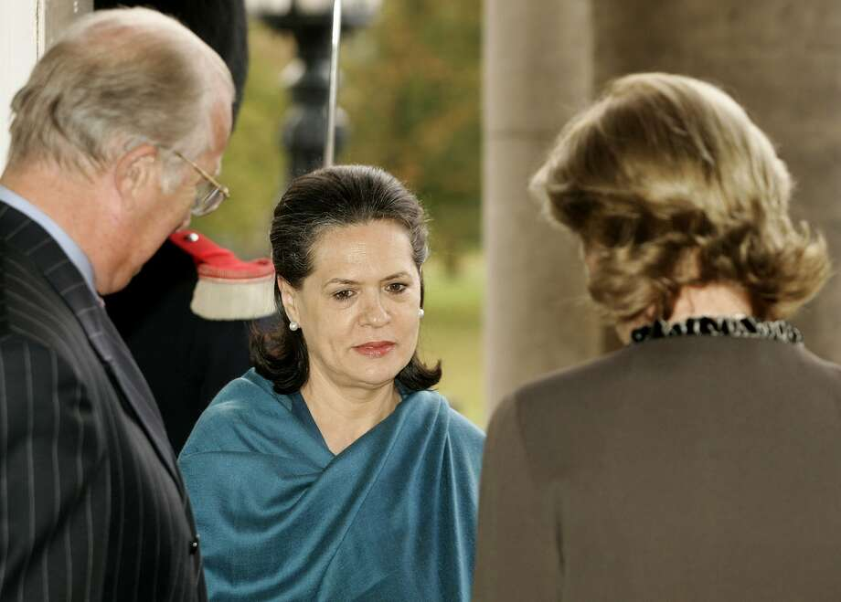6. Sonia Gandhi,  President, Indian National Congress. Age: 65.  Residence: New Delhi, India. (Getty Images)
