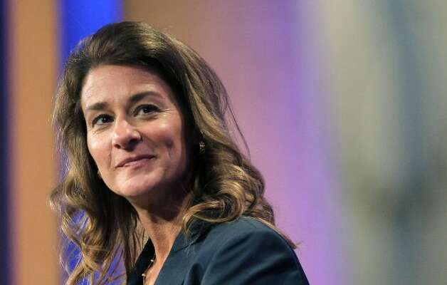 "Melinda Gates: The co-chair of the Bill & Melinda Gates Foundation could be found, in one week, ""hanging out"" in a West African village and keeping company with Britain's Prime Minister David Cameron. Gates, a practicing Catholic, has made it the foundation's goal to bring contraceptive services to 120 million more women in the developing world by the year 2020. ""I believe absolutely in family planning: I am putting my reputation, my credibility on the line,"" she told a Seattle awards gathering after returning from Europe. The goals of Melinda Gates are bold; the words of Melinda Gates are memorable. (Mario Tama / Getty Images)"