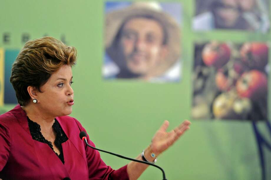 3. Brazilian President Dilma Rousseff. Age: 64. Residence: Brasilia, Brazil. (AFP/Getty Images)