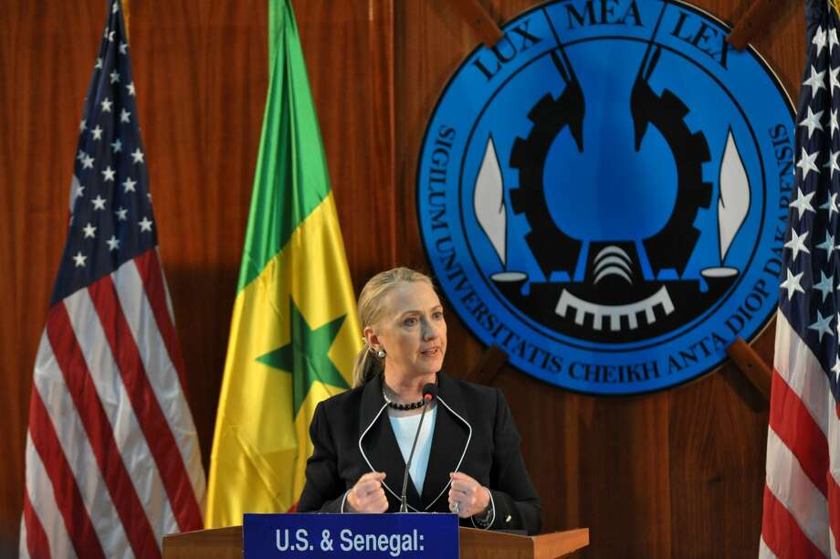 2. Hillary Clinton, US Secretary of State. Age: 64. Residence: Washington, DC. (AFP/Getty Images)