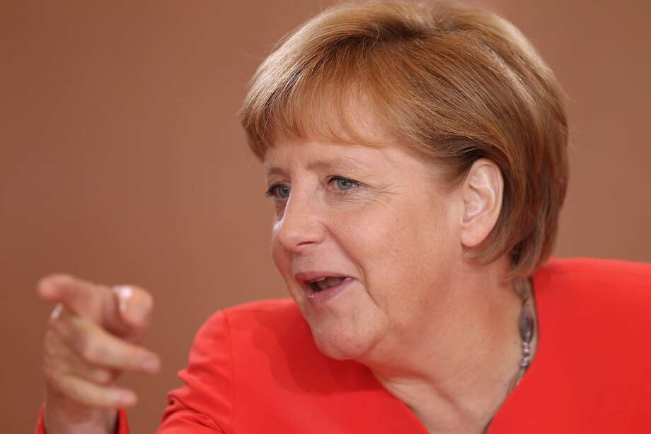 1. Angela Merkel, Chancellor of Germany. Age: 58. Residence: Berlin, Germany. (Sean Gallup / Getty Images)
