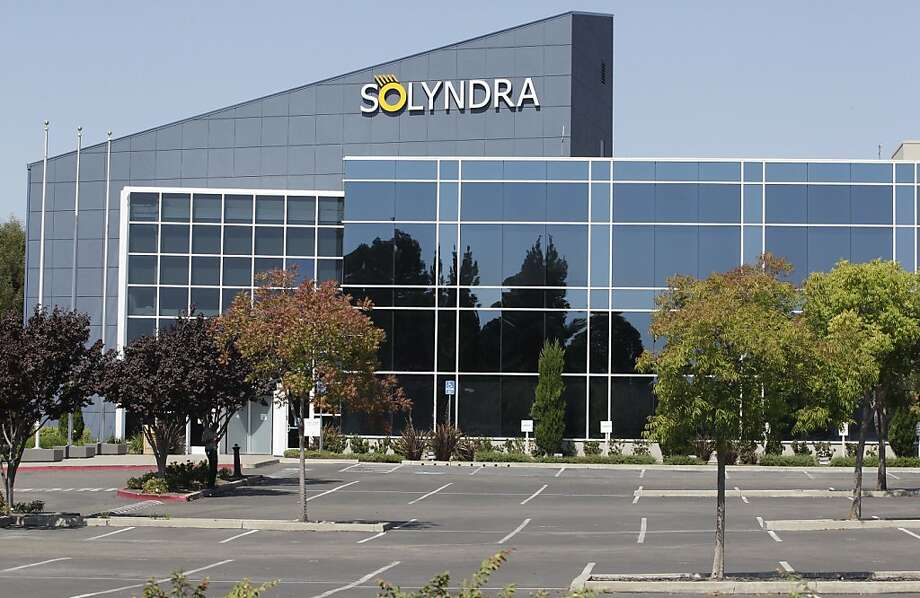 Solar cell maker Solyndra closed a year ago and filed for bankruptcy in September. Photo: Paul Sakuma, AP