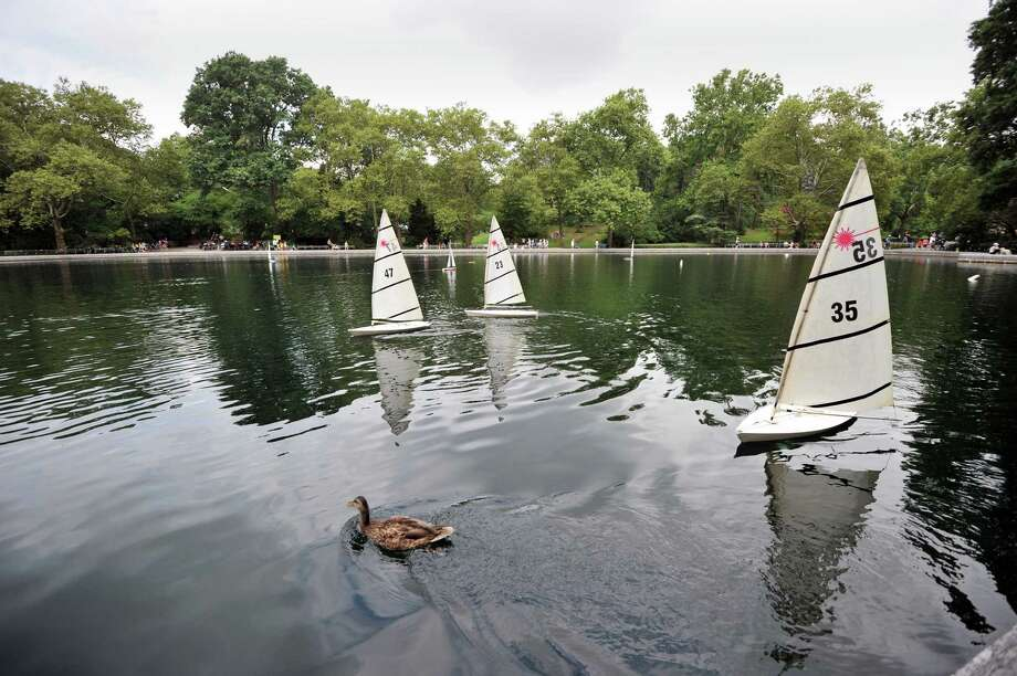 The Darien Youth Commission's 22nd annual Tilley Pond Model Boat Regatta will take place Saturday. Find out more.  Photo: STAN HONDA / AFP