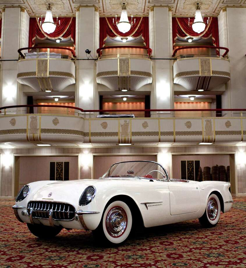 The original 1953 Chevrolet Corvette show car on display in the Waldorf Astoria ballroom Saturday, May 7, 2011 in New York, NY. This vehicle first appeared publicly in January of 1953 at the same hotel ballroom.  Photo: GM / License Agreement - Please read