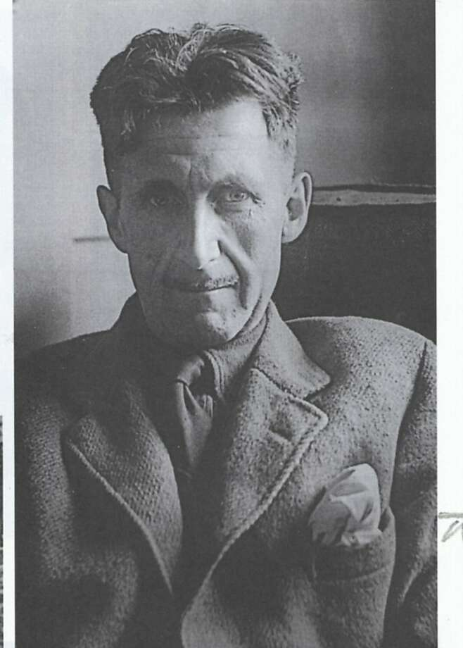 "George Orwell: ""an inveterate writer of diaries."" Photo: Chronicle Archive"