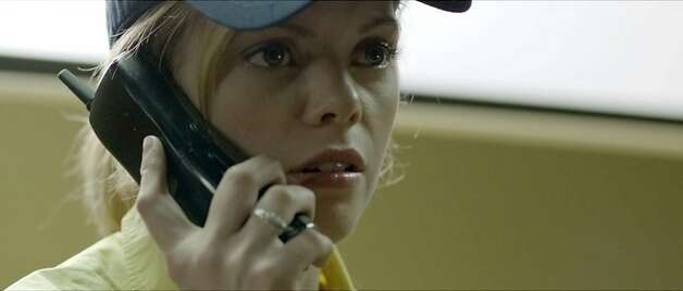 Dreama Walker's character, Becky, faces the prospect of being strip searched by a co-worker. Photo: Magnolia Pictures