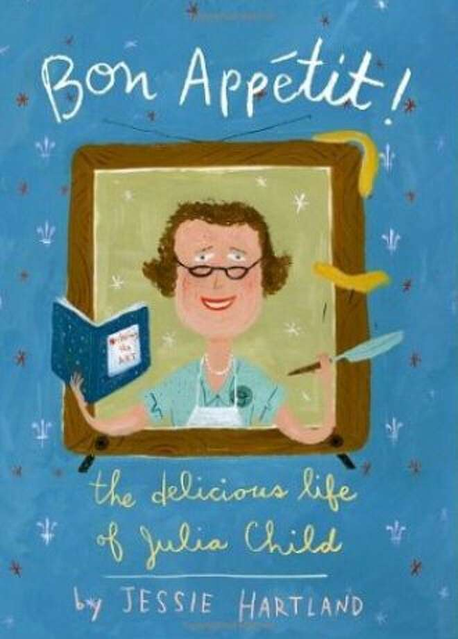 Bon Appetit! The Delicious Life of Julia Child, by Jessie Hartland Photo: Jessie Hartland