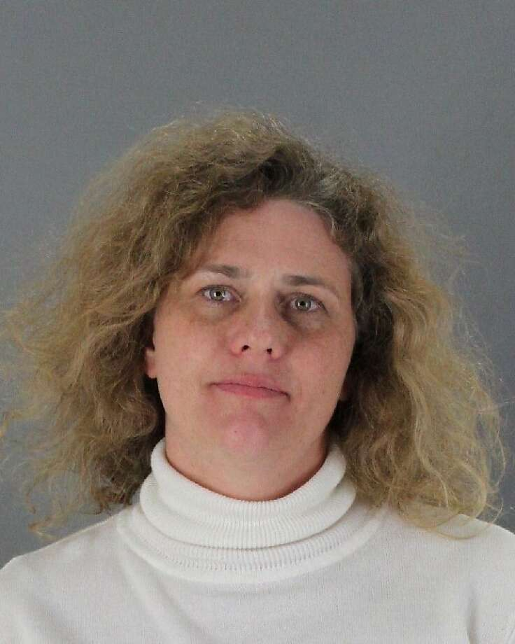 Attorney Erika Jordening allegedly smuggled drugs to Aaron Rauls. Photo: San Mateo County SheriffÕs Offic
