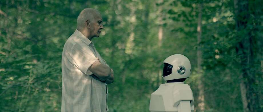 "When Frank (Frank Langella) starts to suffer from dementia, his son gives him a robot companion to keep an eye out in ""Robot & Frank."" Photo: Samuel Goldwyn Films"