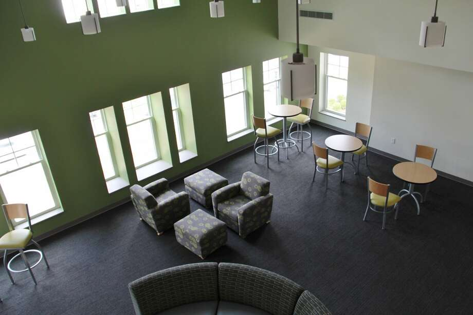 A common area at Centennial Hall on the campus of the College of Saint Rose in Albany. (Kayla Germain/The College of Saint Rose)