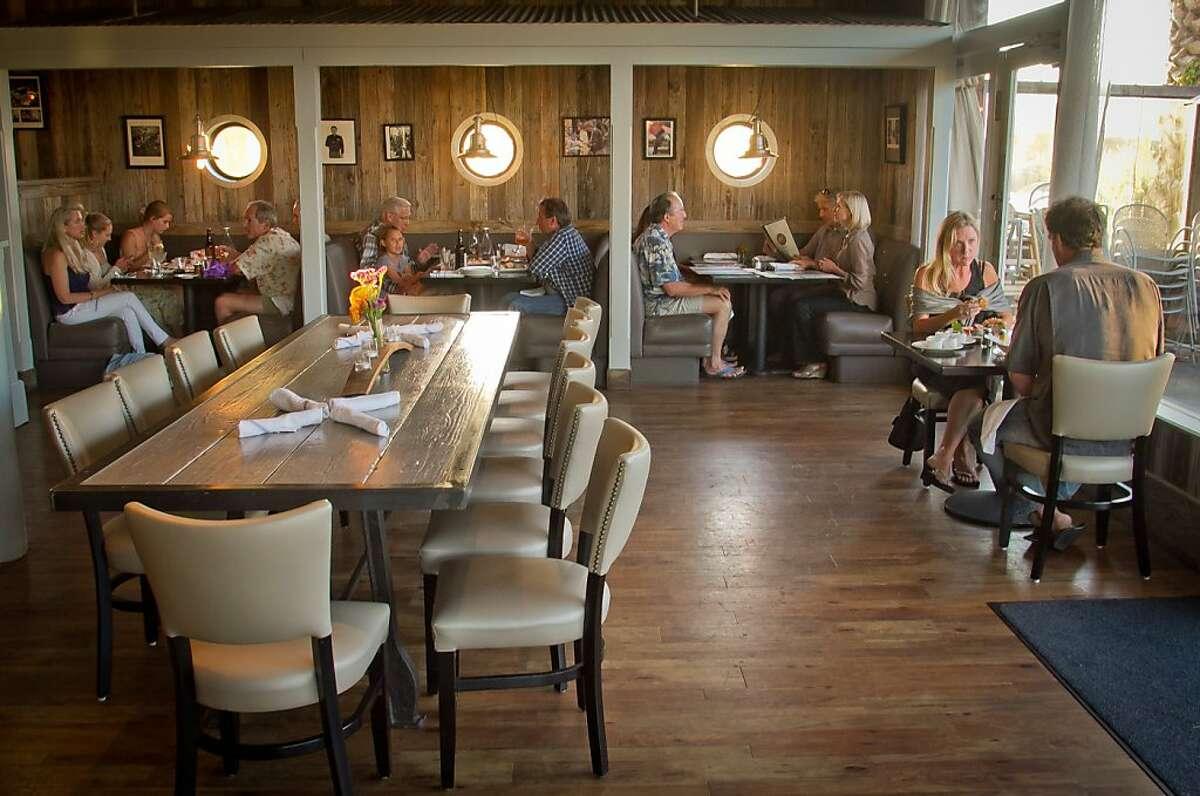 People enjoy dinner at Terrapin Crossroads in San Rafael, Calif., on Sunday, August 19th, 2012.