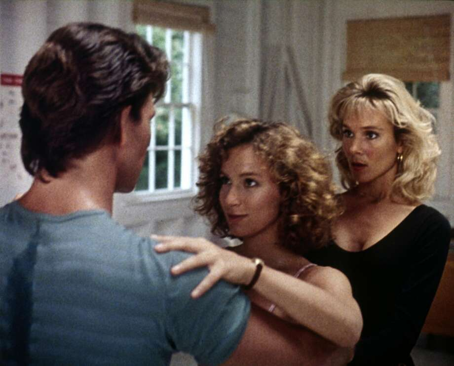 "Cynthia Rhodes helps guide Jennifer Grey through the dance steps with Patrick Swayze in  ""Dirty Dancing."" (Lionsgate Home Entertainment)"