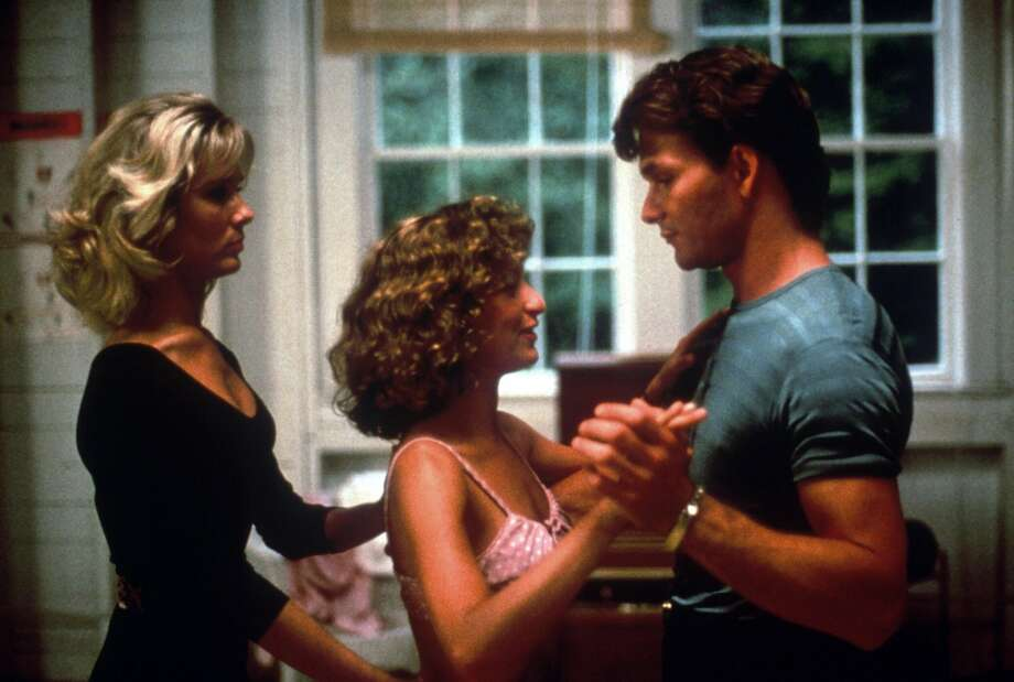 "Cynthia Rhodes, Jennifer Grey and Patrick Swayze in ""Dirty Dancing.""